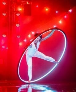 LED CYR Wheel Paris