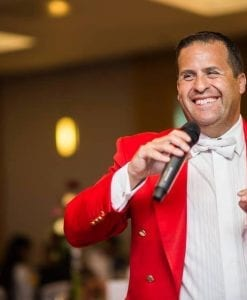Toastmaster for hire