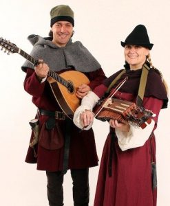 medieval musicians for hire