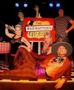 mad hatters circus