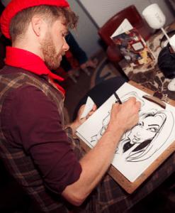caricaturist dan