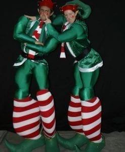 Giant christmas stilts