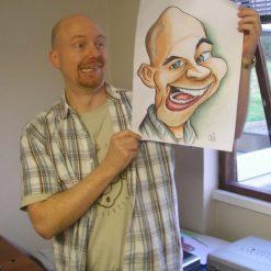 digital caricaturist brighton