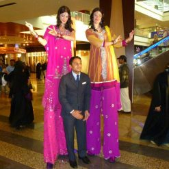 Bollywood Stilts