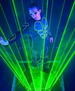 laser man paris