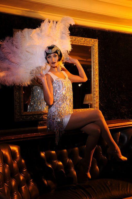 1920s showgirl entertainment