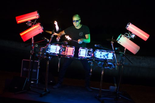 LED Drummer