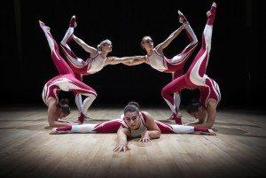 All female acrobatic troupe