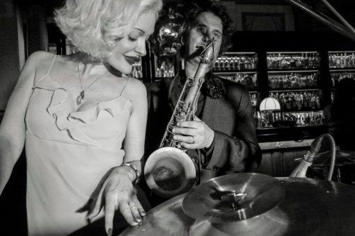 vintage Jazz duo