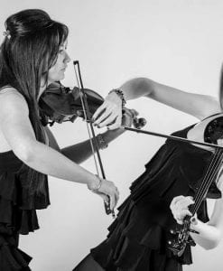 violin duo to hire