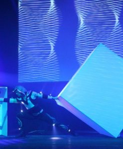 the lighting cube show