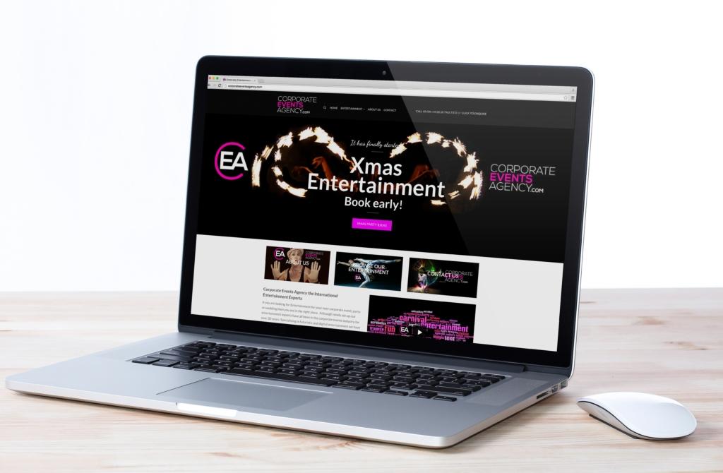 corporate entertainment website