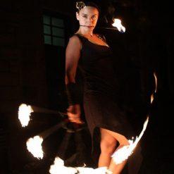 fire performers edinburgh