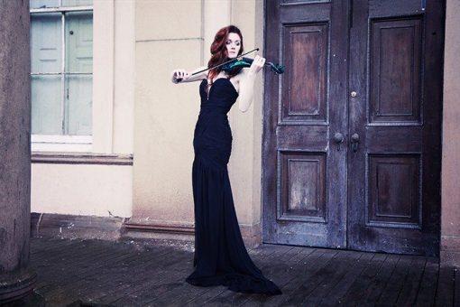 Violinist Lauren