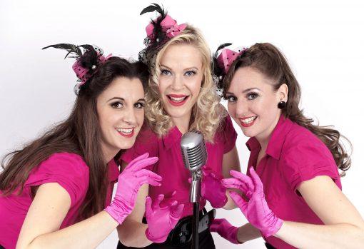 vintage vocal trio