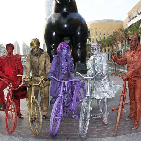 colour bikes