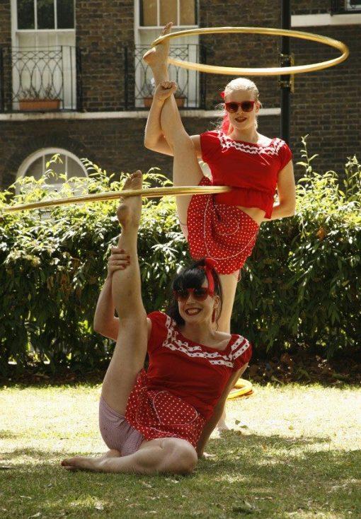 hula hoop dancers to hire