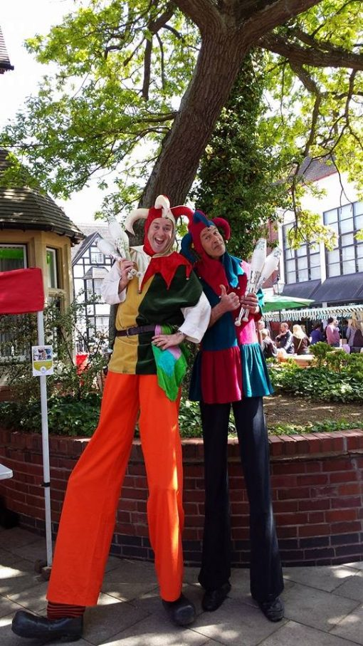 jester stilts for hire
