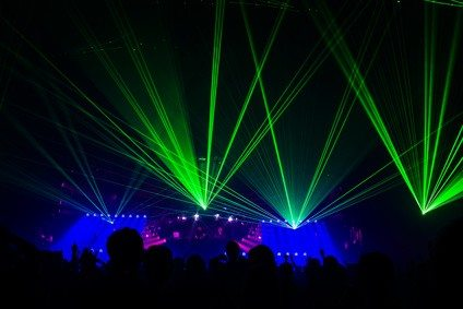 laser shows to hire