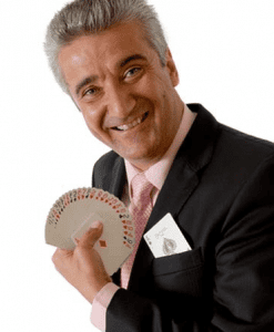 magician to hire