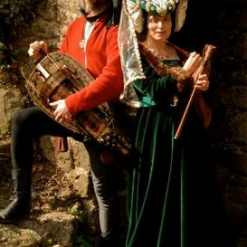 medieval duo for hire