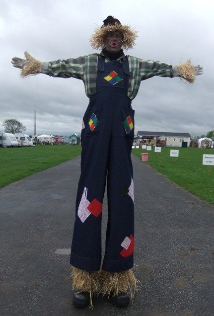 comedy stilts for hire