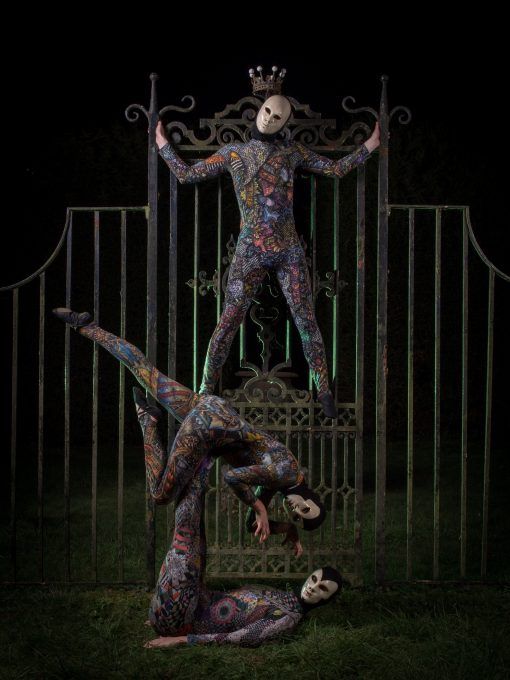 harlequins acrobats