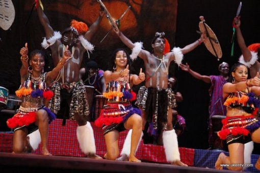 african dance group