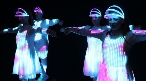 LED Pixel Dancers