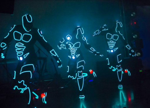 LED Footbag Show