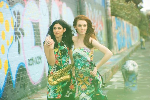 violin and sax duo