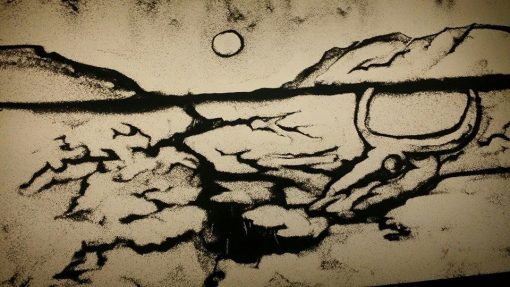 sand artist brett
