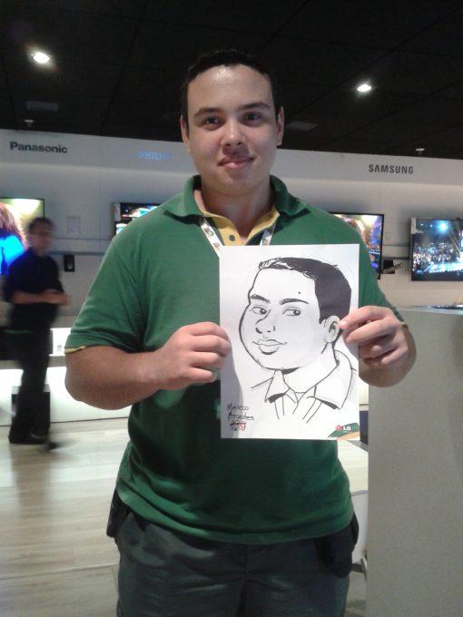 Caricaturist Marco