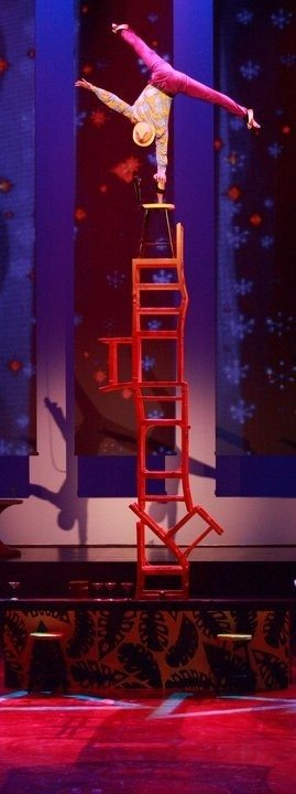 chair balance las vegas