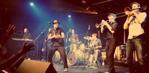 SANTOS and his band