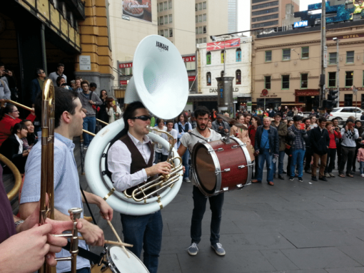 brass band melbourne