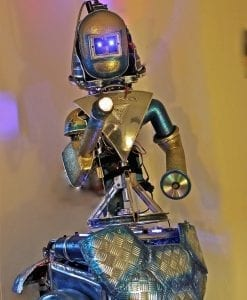 Sparky the robot