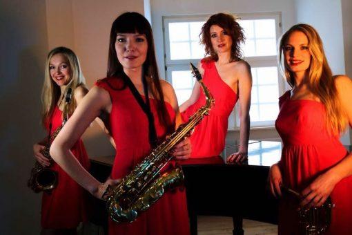 female sax group
