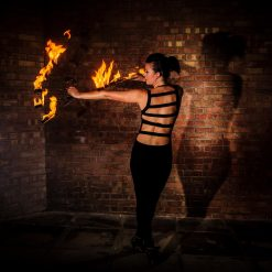 fire performer jenny