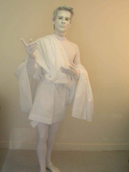 Mime Artist Paris