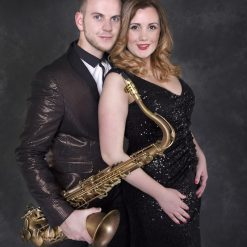 Lady and the Sax
