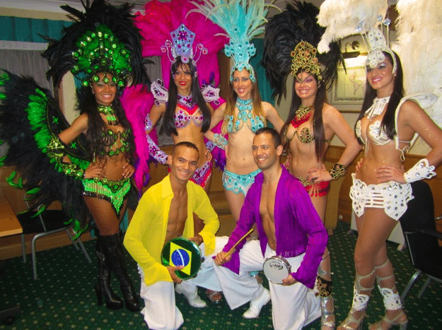 Brazilian Latin Dance Group