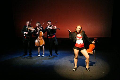 Dancing Comedy Musicians