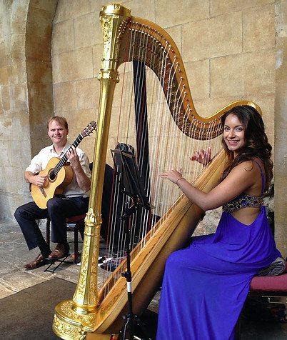Harpist London