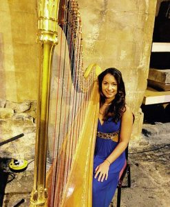 Harpist London