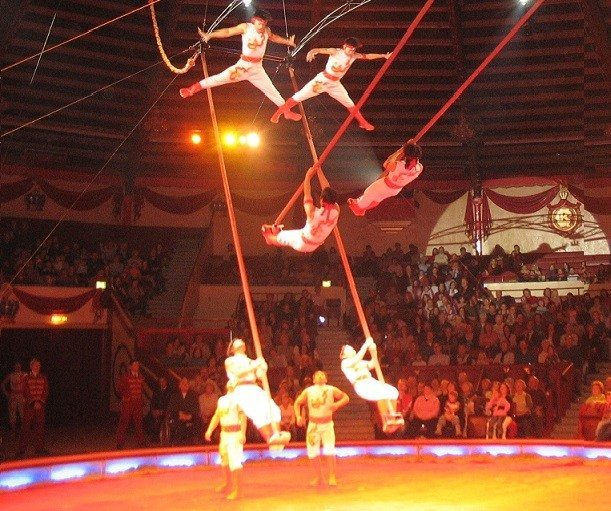 Chinese Circus Acts
