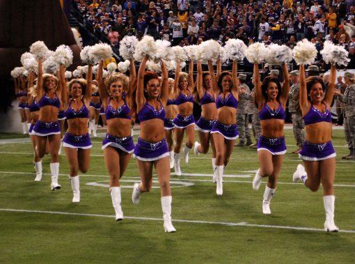 cheerleaders for hire