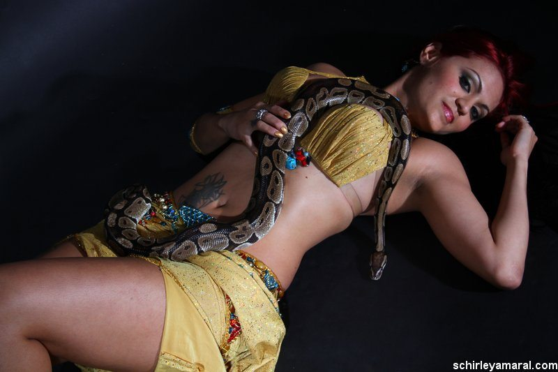SNAKE DANCER FOR HIRE