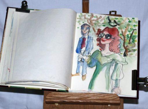 Caricaturist Valentino