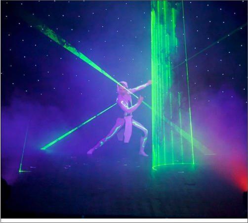 laser show paris
